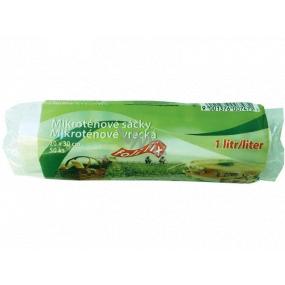 Folifix Food Bags Mikrotenové sáčky na roli 1 litr, 20 x 30 cm 50 kusů