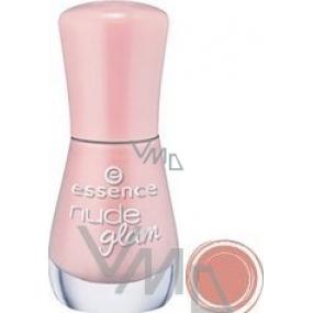Essence Nude Glam Nail Polish lak na nehty 02 Iced Strawberry Cream 8 ml