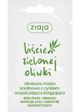Ziaja Olivové listy kaolínová maska se zinkem 7 ml