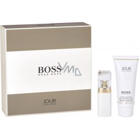 Hugo Boss Jour pour Femme parfémovaná voda pro ženy 30 ml + tělové mléko 100 ml, dárková sada