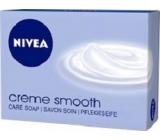 Nivea Creme Smooth krémové toaletní mýdlo 100 g