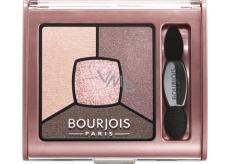 Bourjois Smoky Stories Quad Eyeshadow Palette oční stíny 02 Over Rose 3,2 g