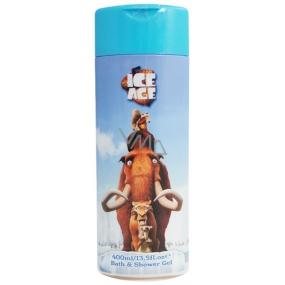Ice Age 2v1 sprchový gel a pěna do koupele pro děti 400 ml