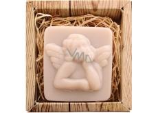 Bohemia Natur Anděl ručně vyráběné toaletní mýdlo v krabičce 80 g