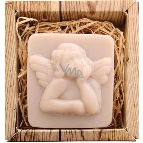 Bohemia Gifts Anděl ručně vyráběné toaletní mýdlo v krabičce 80 g