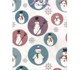 Nekupto Dárková papírová taška střední 23 x 18 x 10 cm Vánoční 1222 02 WBM