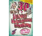 Nekupto Stírací přání k narozeninám Kámašútra 30 G 30 3337 21,5 x 13,5 cm