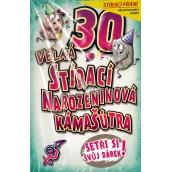 Nekupto Stírací přání k narozeninám Kámašútra 21,5 x 13,5 cm 30 G 30 3337
