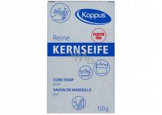 Kappus Kernseife Reine univerzální čisté tvrdé bílé mýdlo vyrobeno z přírodních látek 150 g