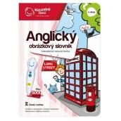 Albi Kouzelné čtení interaktivní mluvící kniha Anglický obrázkový slovník, věk 4+