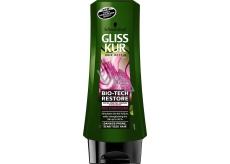 Gliss Kur Bio-Tech Restore balzám pro potřeby křehkých vlasů 200 ml