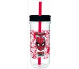 Epee Merch Marvel Spiderman Sklenice plastová 670 ml