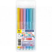 Centropen Colour World Pastel popisovače pastelové vypratelné 1 mm 6 barev
