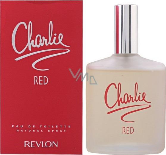 77da501126 Revlon Charlie Red toaletní voda pro ženy 100 ml - VMD drogerie