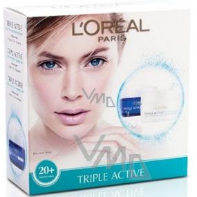 Loreal Paris Triple Active denní krém 50 ml + noční krém normální pleť 50 ml, kosmetická sada