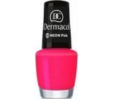 Dermacol Neon Polish Neonový lak na nehty 03 Neon Pink 5 ml
