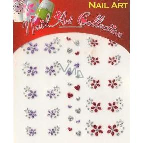 Absolute Cosmetics Nail Art samolepicí nálepky na nehty GNS 31 1 aršík