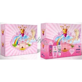 Fa Kids Mořská panna sprchový gel 250 ml + Schauma Kids Girl šampon 250 ml + Vademecum Junior Jahoda zubní pasta 50 ml dárková kazeta pro malé princezny