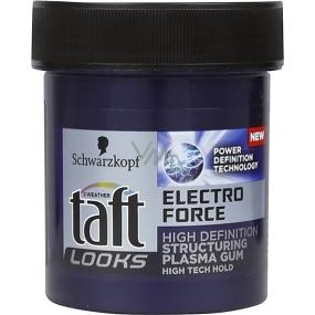 Taft Looks Electro Force Structuring Plasma Gum stylingová guma 130 ml