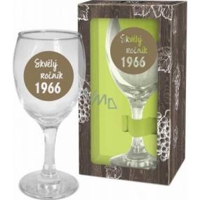 Albi Můj Bar Sklenka na víno 1966 220 ml