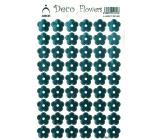 Arch Holografické dekorační samolepky květiny modré 415