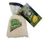 Bohemia Gifts & Cosmetics Pivrnec Pivní pro stimulaci a uvolnění napětí koupelová sůl v plátěném sáčku 150 g
