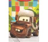Nekupto Dárková papírová taška velká 33 x 26 x 13 cm Cars vánoční 1190 WLGL