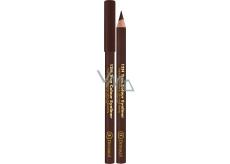 Dermacol 12h True Colour Eyeliner dřevěná tužka na oči 06 Dark brown 2 g
