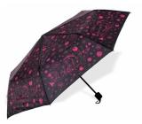 Albi Deštník Premium - Růžové květy