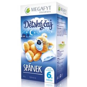 Megafyt Spánek bylinný čaj pro děti 20 x 2 g