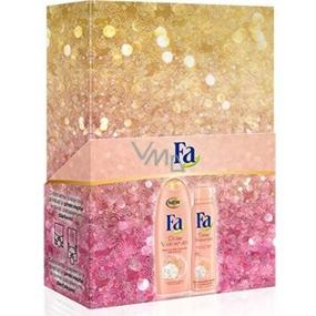 Fa Divine Moments sprchový gel 250 ml + deodorant sprej 150 ml, pro ženy kosmetická sada