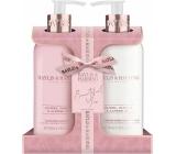 Baylis & Harding Jojoba, Vanilka a Mandlový olej tekuté mýdlo na ruce 300 ml + mléko na ruce a tělo 300 ml, kosmetická sada
