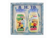 Bohemia Gifts & Cosmetics Kids Pat a Mat - Truhláři šampon na vlasy 250 ml + sprchový gel 250 ml, pro děti kosmetická sada