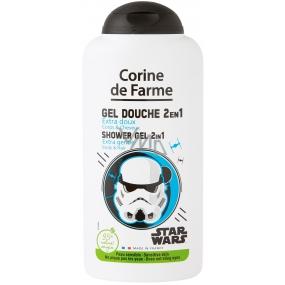 Corine de Farme Star Wars 2v1 šampon na vlasy a sprchový gel pro děti 250 ml