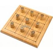 Albi Bambusové minihry Piškvorky společenská hra pro 2 hráče