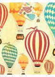 Nekupto Dárková papírová taška 18 x 23 x 10 cm Balony 1877 01 KFM