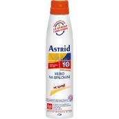 Astrid F10 Mléko na opalování ve spreji 200 ml