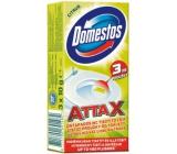 Domestos Attax Lemon čistící proužky do toalety 3 x 10 g