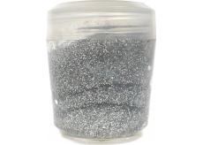Ocean Glitter Gel třpyt na tělo a vlasy v gelu stříbrný 10 g
