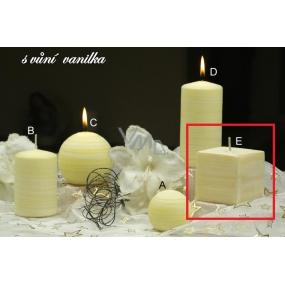 Lima Wellness Vanilka aroma svíčka krychle 65 x 65 mm 1 kus
