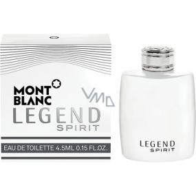 Montblanc Legend Spirit toaletní voda pro muže 4,5 ml s rozprašovačem, Miniatura