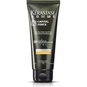 Kérastase Homme Capital Force Densifying Gel zhušťující ultra pevný gel na vlasy pro muže 200 ml