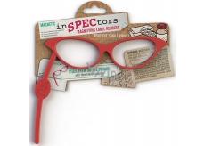 If Inspectors Magnifier with magnet Zvětšující brýle Červené 168 x 6 x 138 mm