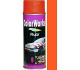 Color Works Fluor 918540 fosforově oranžová nitrocelulózový lak 400 ml