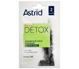 Astrid Citylife Detox hloubkově čisticí slupovací pleťová maska pro normální až mastnou pleť 2 x 8 ml