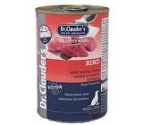Dr. Clauders Hovězí maso kompletní superprémiové krmivo pro dospělé psy obsahuje probiotika - látky pro dobré trávení 400 g