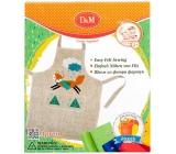 Ditipo Fox Kreativní set šití zástěra pro děti 5+