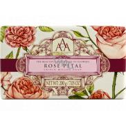 Somerset Toiletry Růže luxusní třikrát mleté toaletní mýdlo 200 g