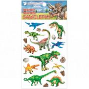 Room Decor Samolepky plastické Dinosauři 10,5 x 19 cm