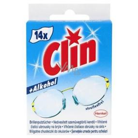 Clin čisticí ubrousky na brýle 25 g